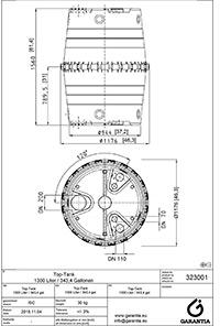 схема емкости TOP-1300