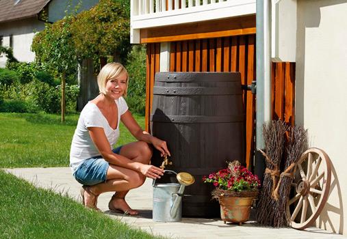 Декоративная емкость для сада и участка Barrica
