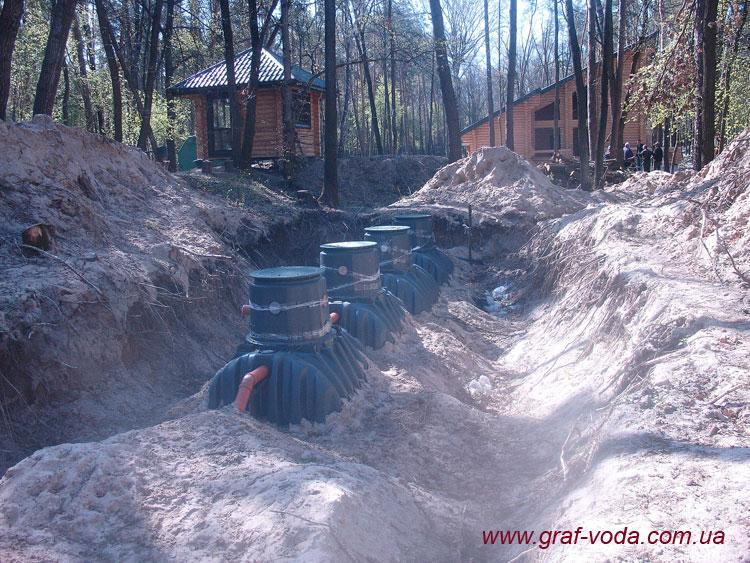 Монтаж двох систем для 20 мешканців, база відпочинку, Черкаська обл.