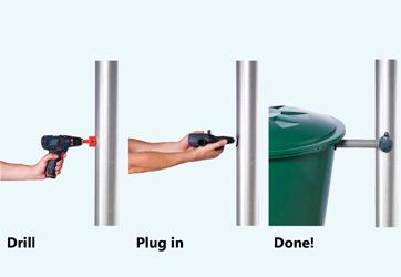 Фильтр rapido для декоративной садовой емкости