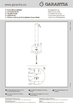 Характеристики колонки водороздатної Рондо