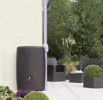 Декоративная емкость для сада и участка Ротанг