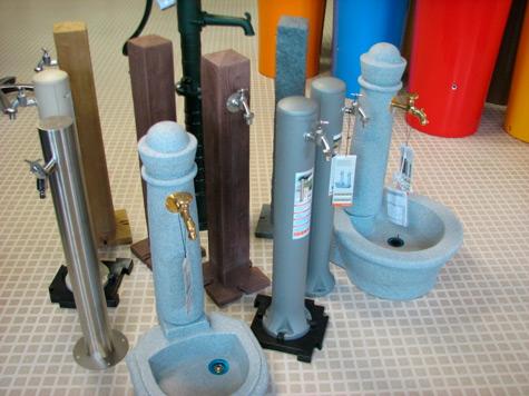 садовые колонки для воды
