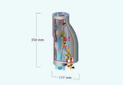 водосточный фильтр на круглые и овальные ливнестоки