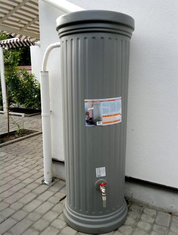 сбор и хранение дождевой воды