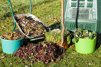 Садовый компост. Полезные советы.