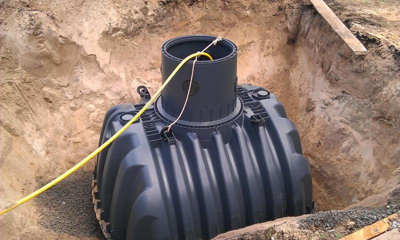 Сбор дождевой воды (Емкость Carat 6500 L)