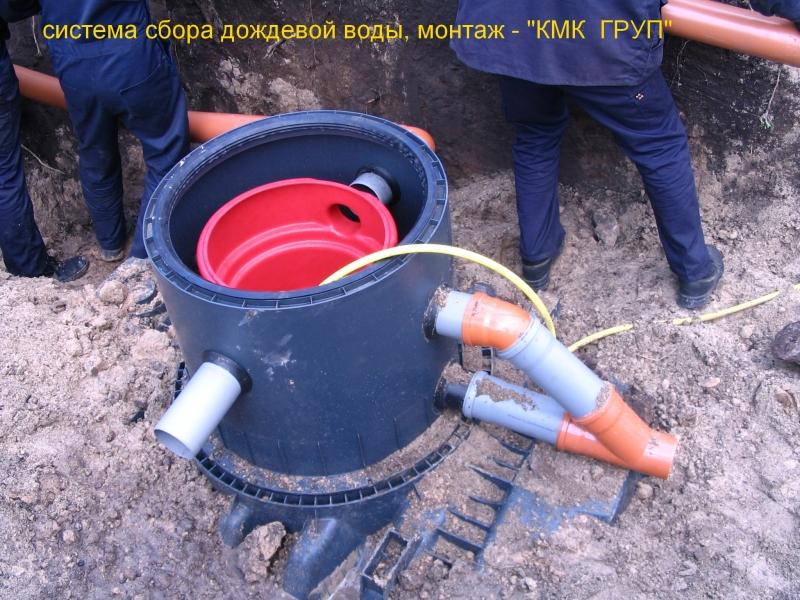 Сбор дождевой воды встроенный фильтр